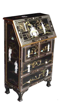 Mother of Pearl Lacquer Bureau