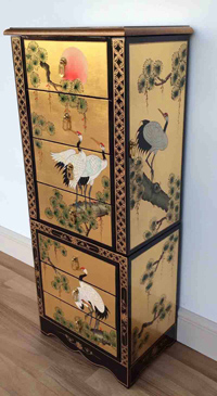 Gold Leaf Jewellery Armoire