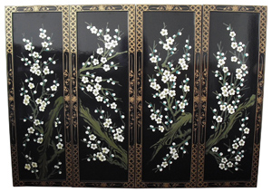 Blossom Set of 4 Wall Hanging