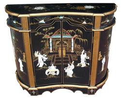 Black Lacquer Sideboard Cabinet